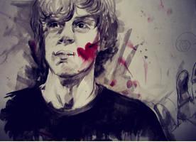 Tate's death. by LadyOFsorrowsX3