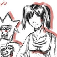 Tekken: Xiao, Jin, Kazya, Jun. by Xiaoyu-san