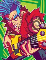 Guitarist by SLBertsch