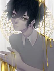 Liquid Gold - Speed Paint by LemonPoppySeedMuffin