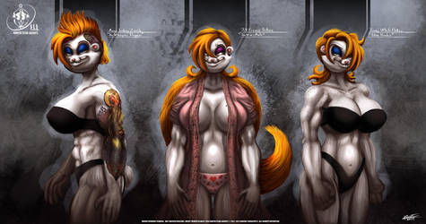 Nsa Concept Art Jill Jenny And Monic Sweet Details by VLADSPARTA