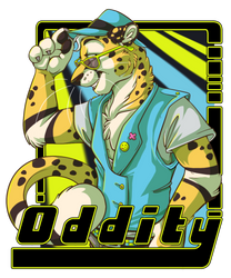 [Commission] Oddity badge by x-Mlice