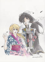 Onime no Kyo and Yuya by themakeshift