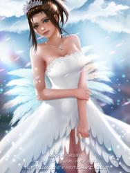 Yuna Wedding Dress | Final Fantasy X by Nefrubi