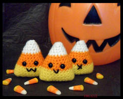Candy Corn Trio by VML1212