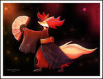 Dancing with Midnight Fires by Maximilien-Serpent