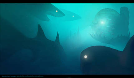 The Sea of Nightmares by Maximilien-Serpent