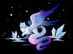 Ice Griffin by Maximilien-Serpent