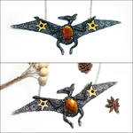 Star Pteranodon Necklace by Maximilien-Serpent