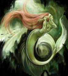 the little mermaid by oktober-nite