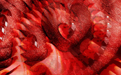 hearts of  glass by analovecatdog