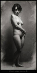 1787 - Silence - Female Figure by D0RIAN0