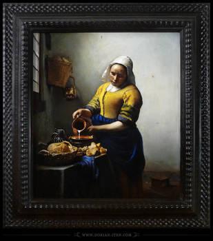1801 - Vermeer's Milkmaid by D0RIAN0