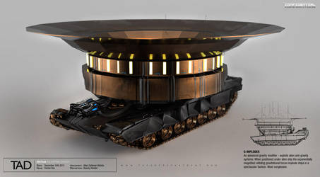 Alien Defense Vehicle by D0RIAN0