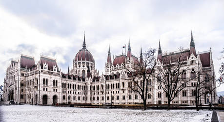 Budapest - Hungarian Parliament 02 by kereszteslp
