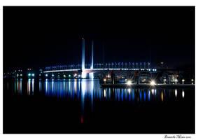 Night: Bolte Bridge by daniellepowell82