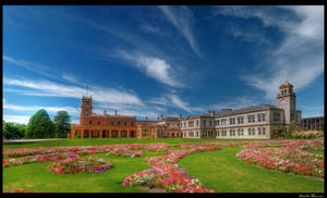 Werribee Mansion Panorama HDR by daniellepowell82