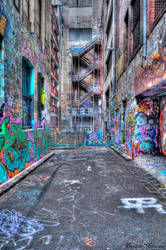 Hosier Graffiti HDR by daniellepowell82