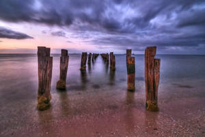 Clifton Springs Old Pier by daniellepowell82