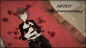 Happy anniversary, Meiko! by RAIN-P