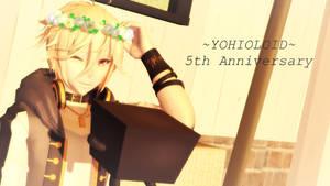 -MMD- Yohioloid 5th Anniversary by RAIN-P