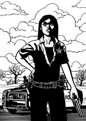 Beth, Shots fired - Earthbound Comics by pandoranachios