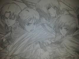 Shingeki no Kyojin! by Anna-Knightley