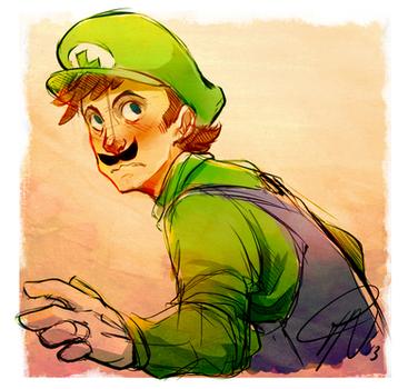 Luigi by LillayFran