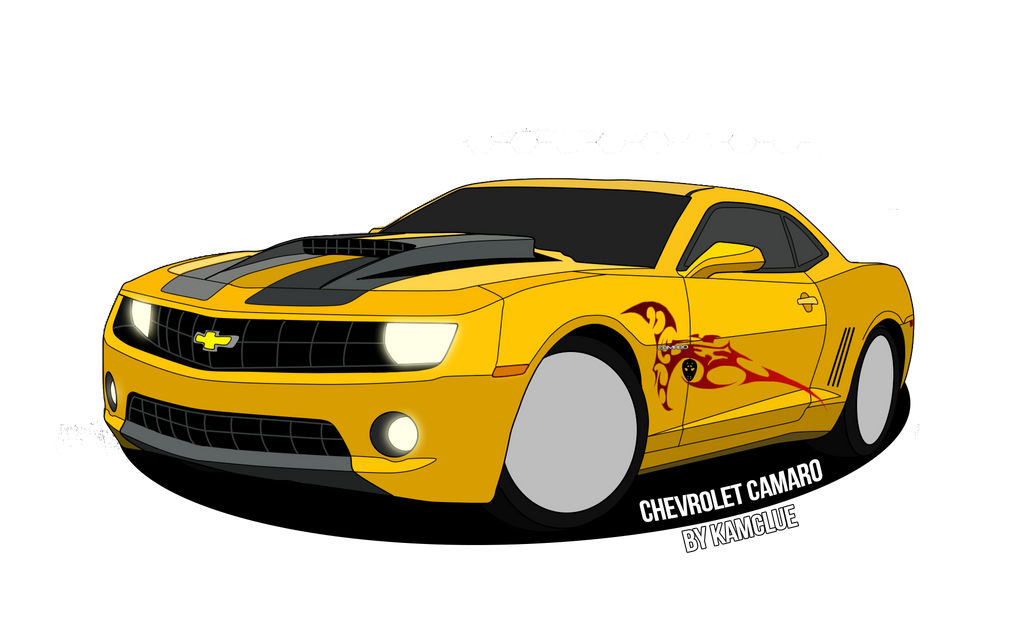 Chevrolet Camaro Drawing By Kamclue750 On Deviantart