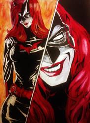 Batwoman: Katherine Kane Fanart by Scornfullaughter