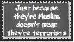 Muslim =/= Terrorist. Understand? by LunnarEclipse