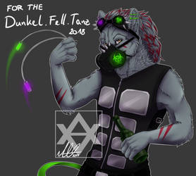 Dunkel.Fell.Tanz TOXIC Illustration by Steamyeen