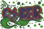 TLoS-The Legend of Cynder Logo by KrazyKari