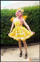 (MLP) Lolita Fluttershy Cosplay by KrazyKari