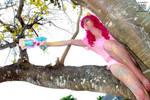 (MLP) Paintball Pinkie Pie Cosplay by KrazyKari