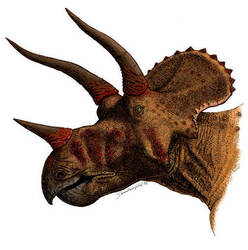 Wounded Triceratops by VitalCreations