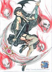 Death's Beauty by Azzuly