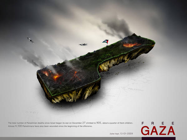 free gaza by eyadz