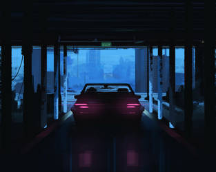 Speed Painting - Car park by Rashedjrs