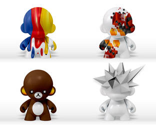 munny concepts by ikarusmedia