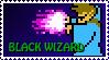 Black Wiz NES Stamp by Agent505