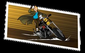 Tintin: Bamf! by Evilddragonqueen