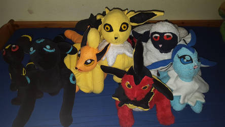 All my plushies :D by joris50066