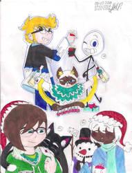 Christmas Sketchdump #2 by PinkieDiamondstone15