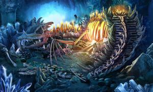 Dragon cave by celedka