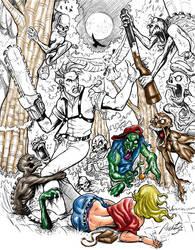 evil dead by zenilto