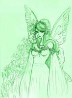 Flora-Queen of Fairies by Maurexen