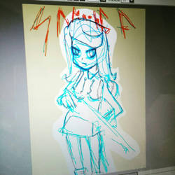 Making few experiments on Paint Tool SAI :-) by mrkrunch