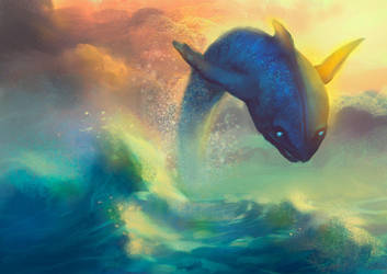 In the sea by elbardo