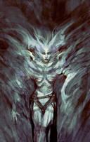 Demon girl by elbardo